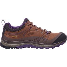 Keen Terradora Leather WP Shoes Damen scotch/mulch